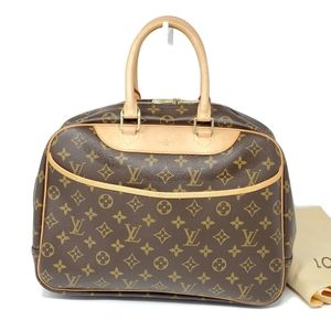 💯 Auth Louis Vuitton Deauville Boston Travel Bag